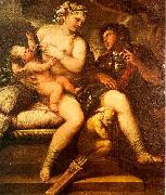 Luca  Giordano Venus, Cupid and Mars oil painting artist